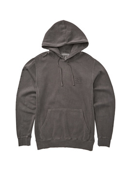 Wave Washed Logo Pullover Hoodie by Billabong