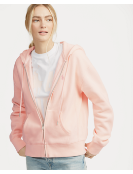 Pink Pony Fleece Zip Hoodie by Ralph Lauren