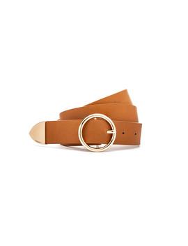 חגורת דמוי עור לונגפילד by Adika