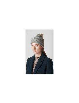 Knitted Pom Hat by Whistles