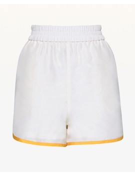 Habotai Silk Track Short by Juicy Couture