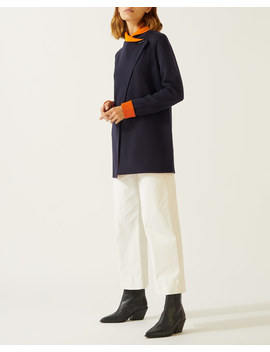 Double Faced Fastening Cardigan by Jigsaw