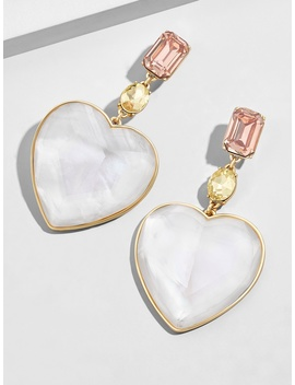 Amaya Heart Drop Earrings by Baublebar