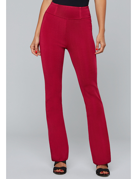 Bandage High Waist Pants by Bebe