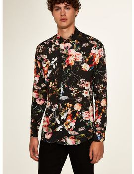 Jaded Floral Long Sleeve Shirt* by Topman