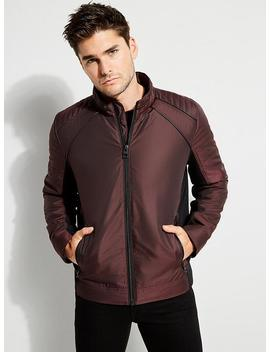 Wild Eco Leather Moto Jacket by Guess