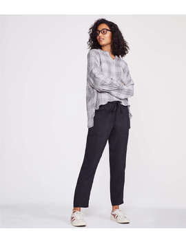 Lou &Amp; Grey Sueded Joggers by Lou & Grey
