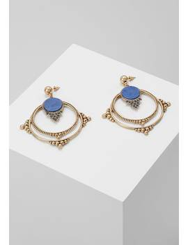 Semi Open   Boucles D'oreilles   Antique Gold by Erase