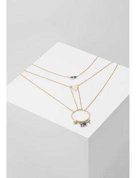 Multi Row Charm 2 Pack   Collier   Gold by Erase
