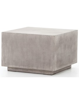 Aby Indoor/Outdoor Side Table, Gray by Lulu & Georgia