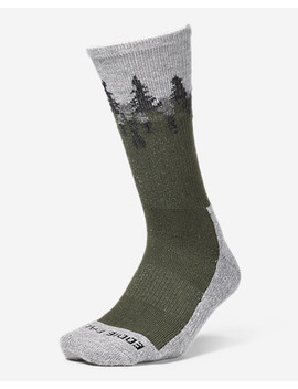 Women's Trail Coolmax® Crew Socks   Pattern by Eddie Bauer