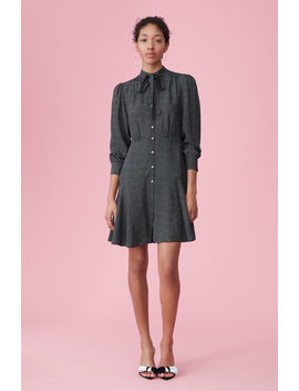 Sprinkle Dot Silk Dress by Rebecca Taylor