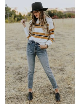 Snyder Stripe Sweater by Roolee
