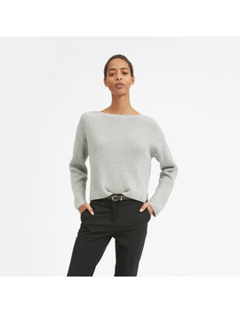 The Cashmere Rib Boatneck by Everlane