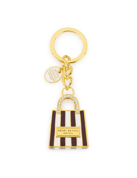 Shopping Bag Keyfob by Henri Bendel