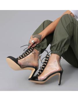 Riya Perspex Heels by Koi Footwear