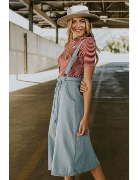 Callum Overall Skirt by Roolee