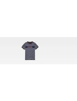 Mow Stripe T Shirt by G Star
