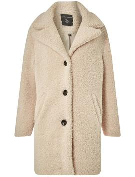 Oatmeal Teddy Coat by Dorothy Perkins