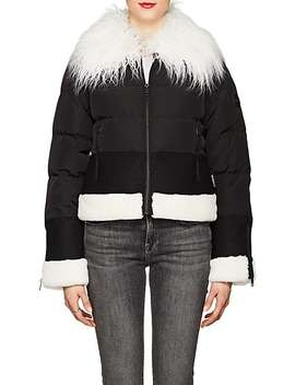 Faux Fur Trimmed Puffer Jacket by William Rast