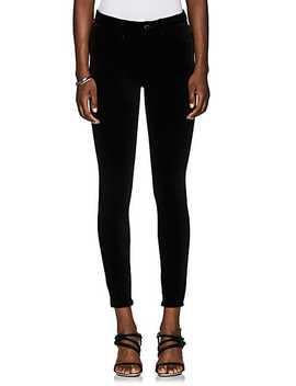 Velvet Skinny Pants by Blanknyc