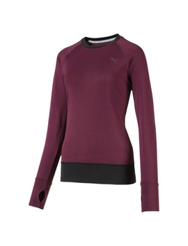 T Shirt à Manches Longues Running Ignite Winter Pour Femme by Puma