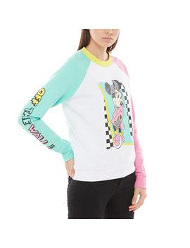 Disney X Vans Hyper Minnie Crew Sweatshirt by Vans