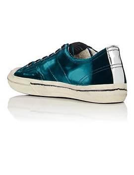 Women's V Star 2 Velvet Sneakers by Golden Goose