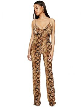 Rattle Me Up Jumpsuit by Naked Wardrobe
