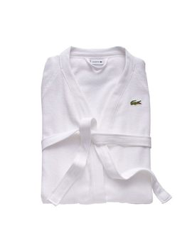 Classic Pique Bath Robe by Lacoste
