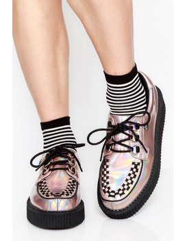 Rose Iridescent Anarchic Creepers by Goodbye Bread