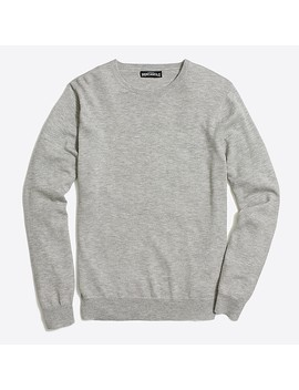 Slim Fit Crewneck Sweater In Perfect Merino Wool Blend by J.Crew