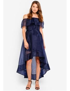 Off Shoulder Dip Back Dress by Preen & Proper