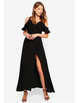 Front Wrap Maxi Dress by Preen & Proper