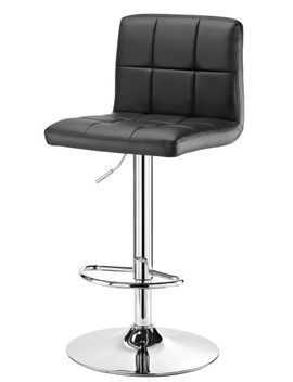 For Living Tufted Bar Stool, Black by Canadian Tire