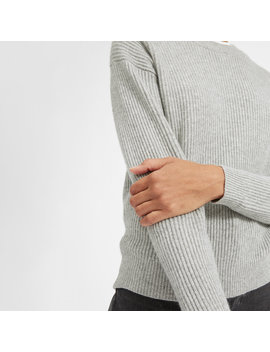 The Cashmere Rib Round Crew by Everlane