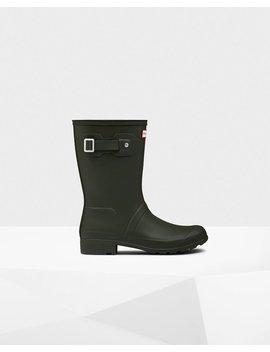 "<Span Itemprop=""Name"">Women's Original Tour Short Rain Boots</Span>:                     <Span>Dark Olive</Span> by Hunter"