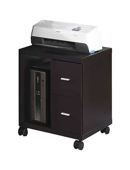 Monarch Specialties Two Drawer Office Cabinet, Cappuccino by Staples
