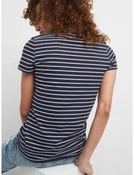 Vintage Stripe Crewneck T Shirt by Gap