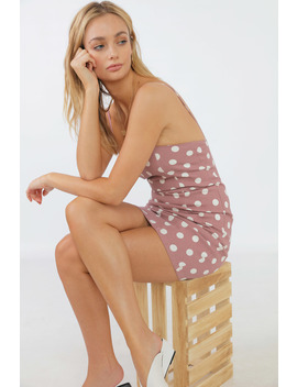 Sorbet Dot Dress by Chiquelle