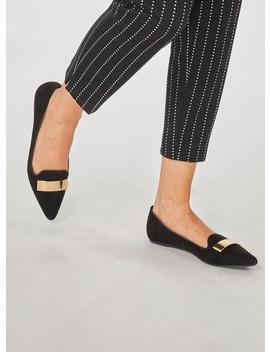 Black Microfibre 'hype' Pumps by Dorothy Perkins