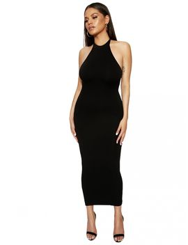 The Nw Holla &Amp; Halter Dress by Naked Wardrobe