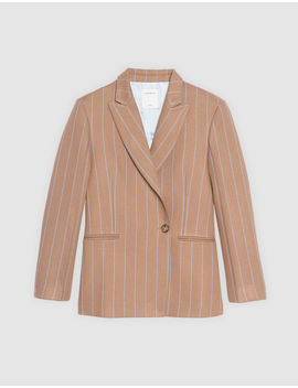 Striped Tailored Jacket by Sandro Eshop