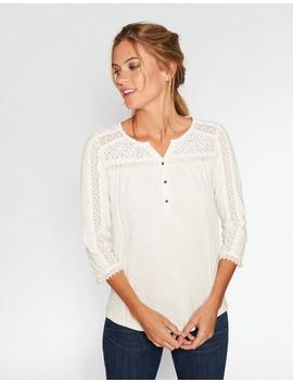Sidney Lace Top by Fat Face