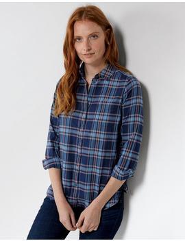 Olivia Check Shirt by Fat Face