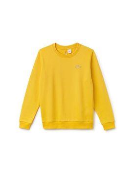 Women's Lacoste Live Teardrop Opening Fleece Sweatshirt by Lacoste