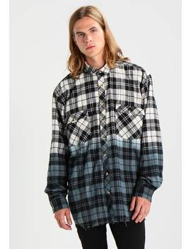 Dip Dye Check Shirt   Skjorte by 12 Midnight