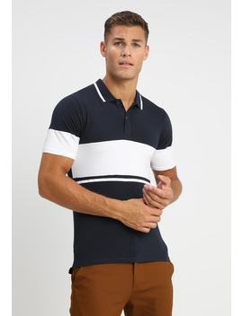 Onstom Muscle Fit Colourblock   Poloskjorter by Only & Sons