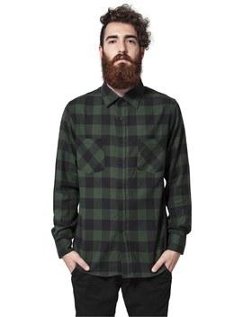 Checked Shirt   Skjorte by Urban Classics