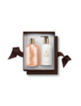 Jasmine & Sun Rose Shower Gel & Lotion Gift Set by Molton Brown